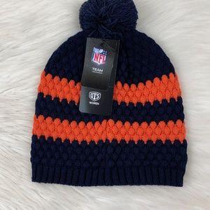 9497a886 Denver Broncos NFL Cuffed Knit Winter Beanie Hat Boutique